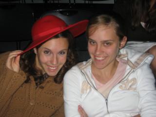 me and christine!