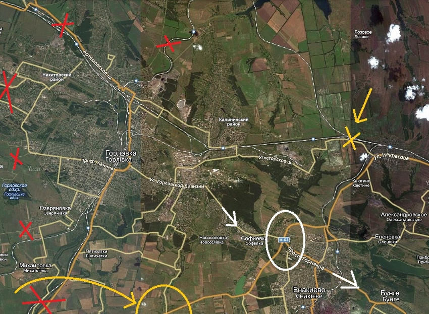 Операторы заявляют, что обеспечивают мобильную связь в Авдеевке - Цензор.НЕТ 38