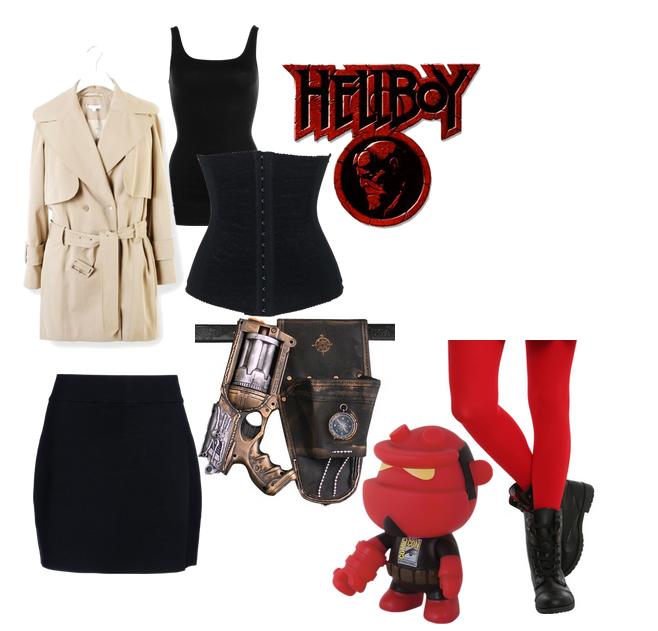 hellboy girl
