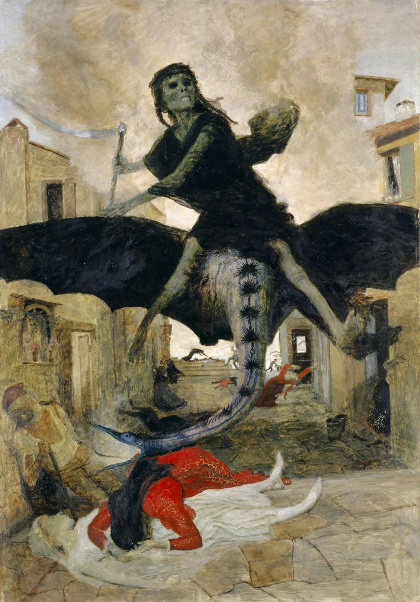 Arnold Böcklin, Die Pest; 1876