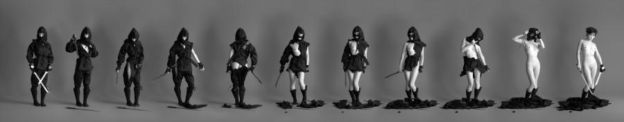 Deconstructed_Ninja___Series_by_mjranum