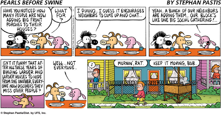 Pearls before Swine 2007.01.28 by Stephan Pastis