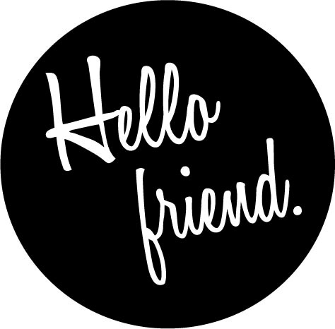hello friend logo