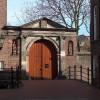 Old hospital gate