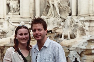 Tim and me in Rome