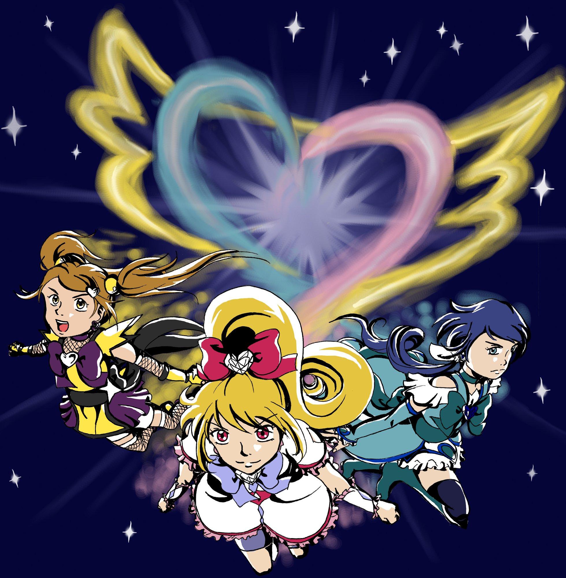 ShiningHeart Pretty Cure! -Art by jitsch-