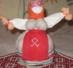 Народная славянская кукла