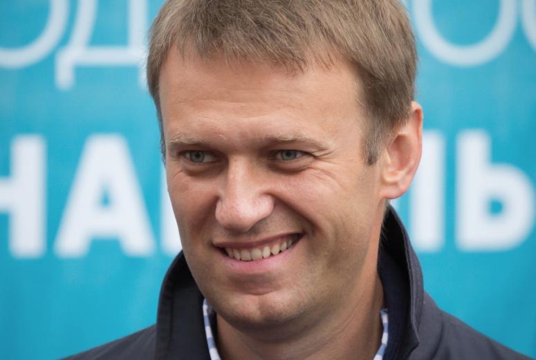 Видеоблогер Алексей Навальный.