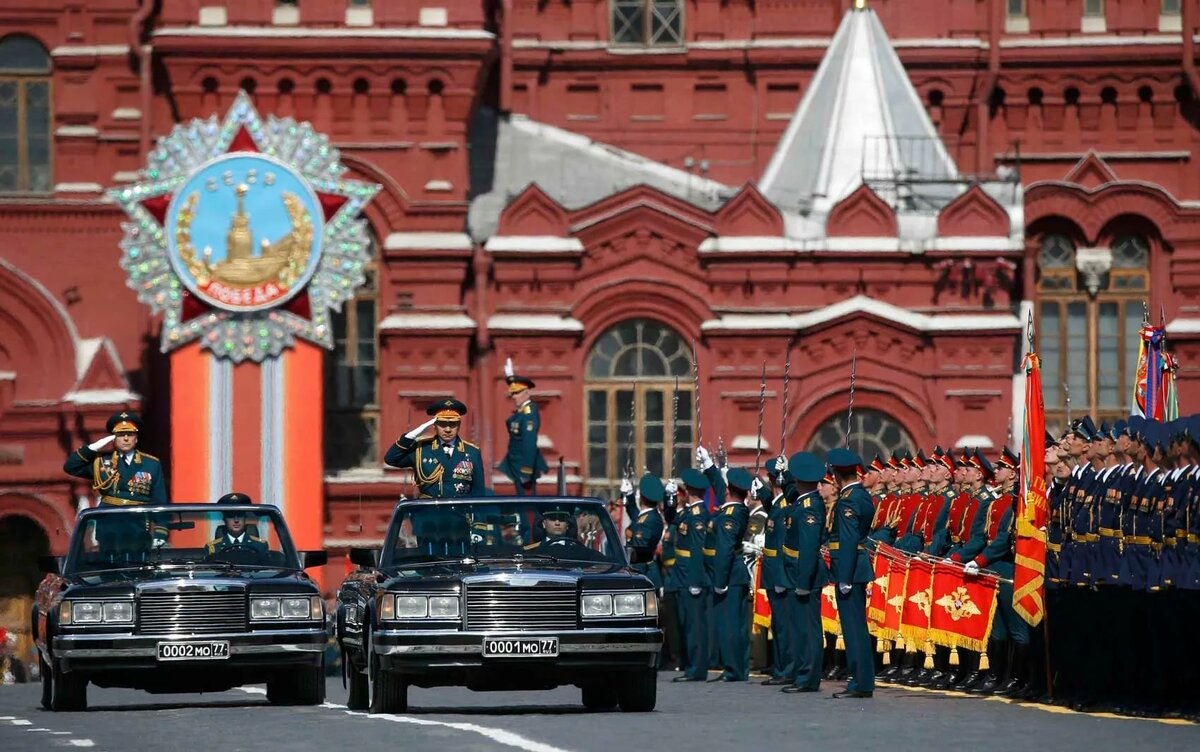 парад на красной площади фото