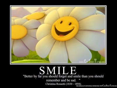 And each day has it's own little rays of sunshine that make you smile :)