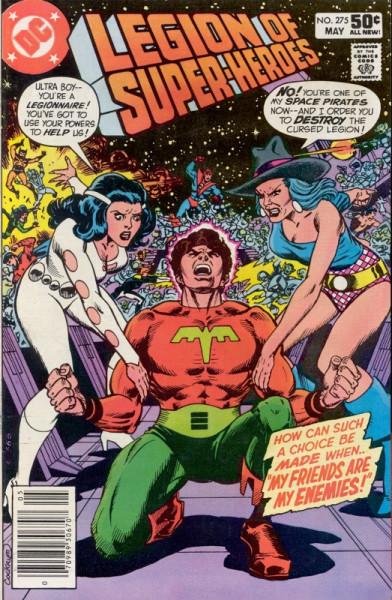 Legion of Super-Heroes Vol 2 #275