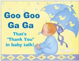 thank baby
