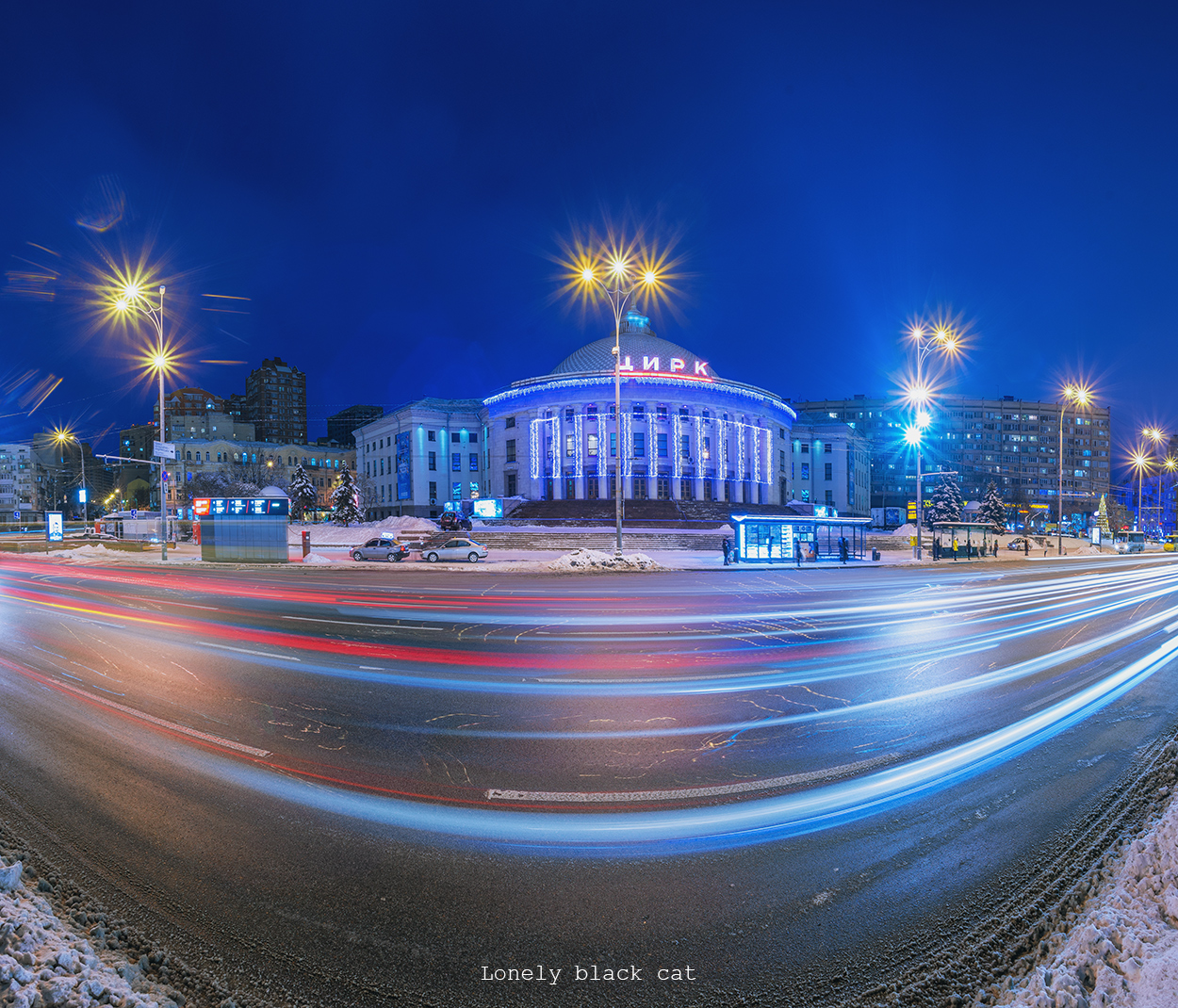 Circus in Kyiv, photography by lonelyblackcat