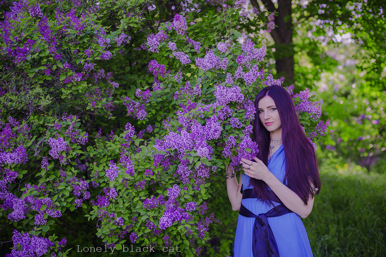 lonelyblackcat photo of beautiful girl from kiev