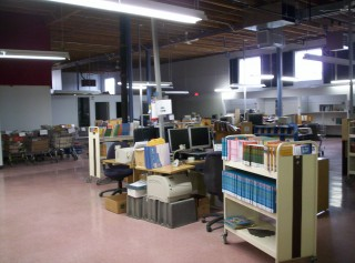 New cataloguing space 2