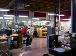 New cataloguing space 4