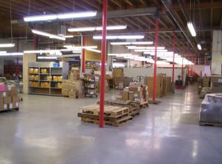 New shipping/skid storage area 1