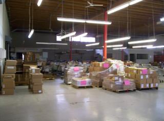New shipping/skid storage area 2