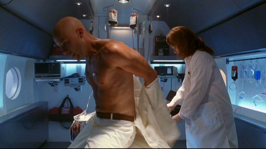 Lex takes off the white shirt of dubious morality