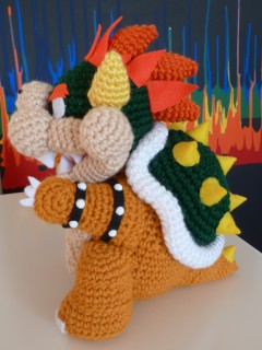Bowser geek crafts for my brothers birthday this year i made bowser from mario bros dt1010fo