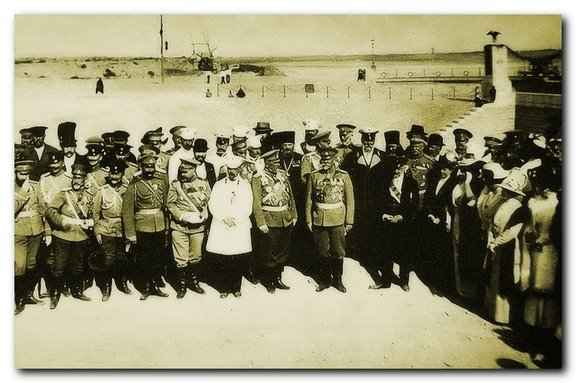 открытие канала самсоновым в 1913