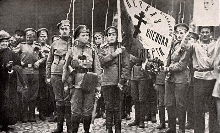 освящение бочкаревского знамени