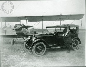 Lillian Gatlin car and plane