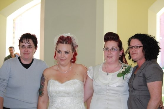 Kath, Jo, Nova and Ky-Lee