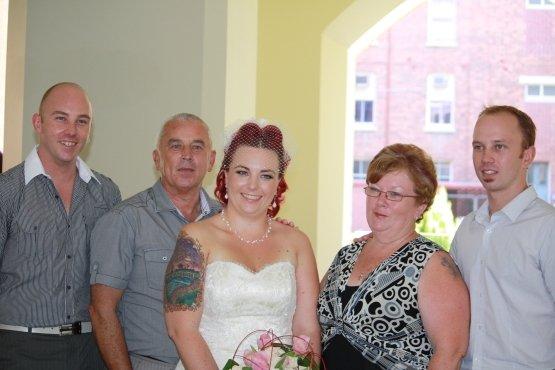 Tim, Brendan, Jo, Ruth and Dan