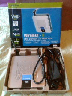 Linksys Wireless-G ADSL Router