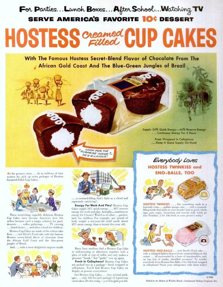 Hostess Cupcake Cake Recipe