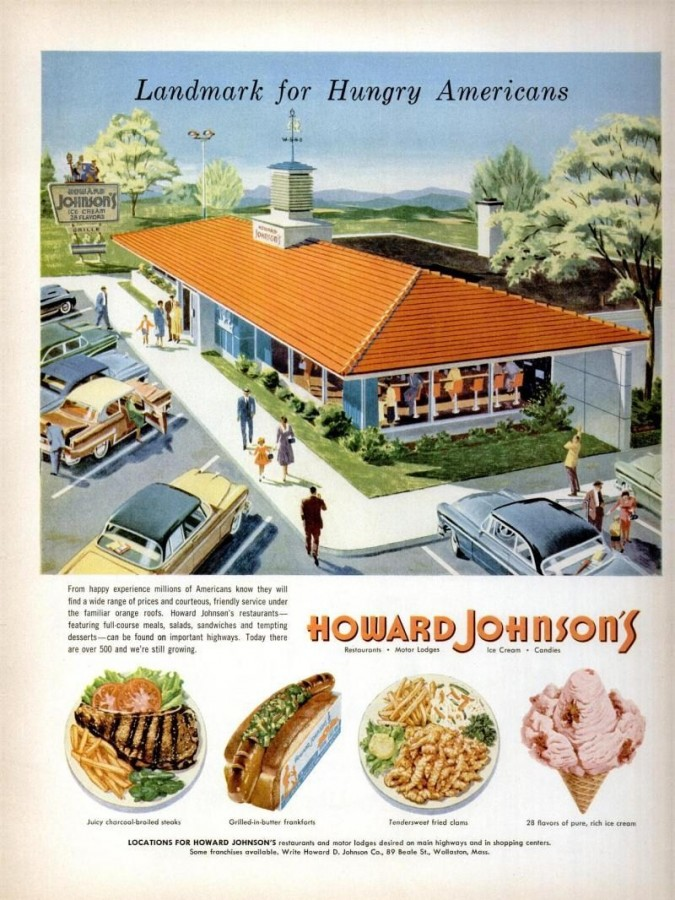 LIFE May 21 1956 Howard Johnsonaposs