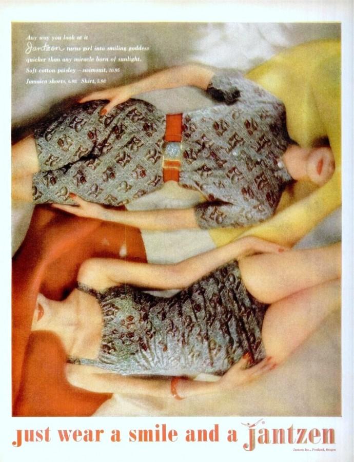 LIFE Jun 6, 1960 jantzen swimsuits