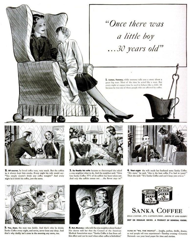 life Jan 23, 1939 sanka headline