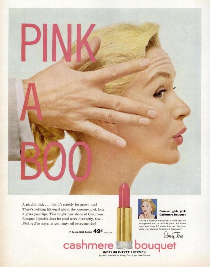 LIFE Apr 25, 1955 pinkaboo cashmere bouquet lipstick