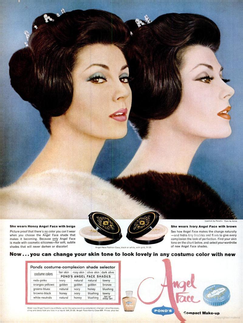 LIFE Nov 24, 1961 angel face skin tone
