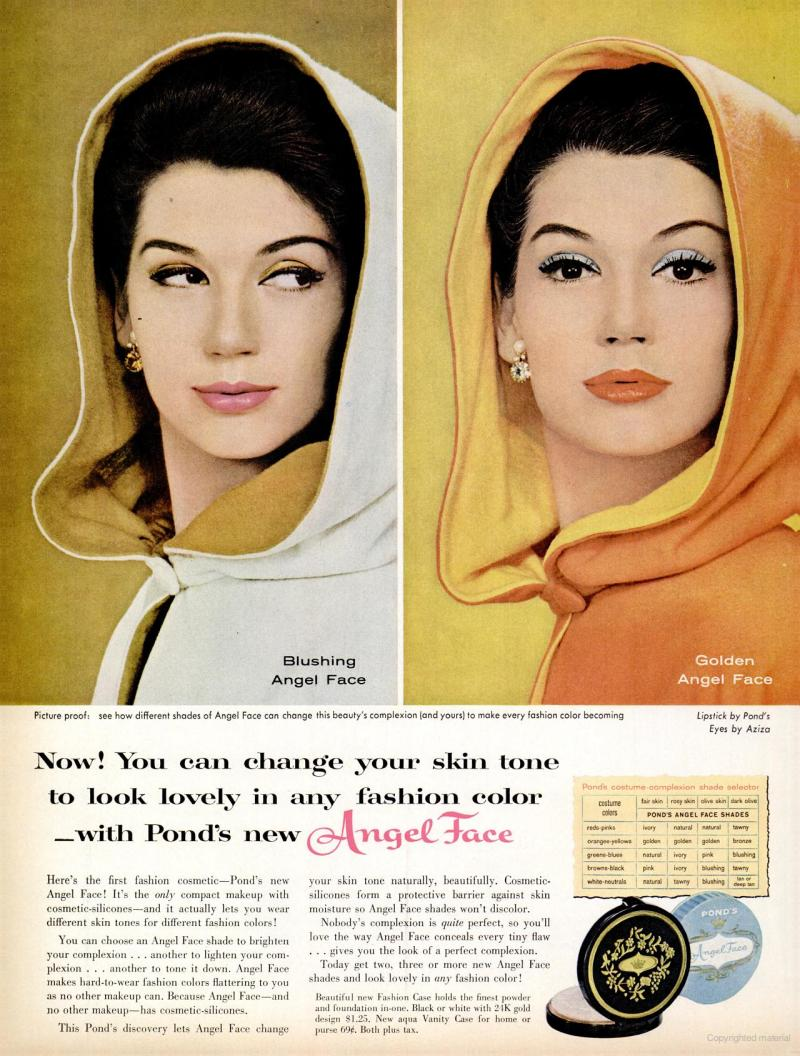 LIFE Oct 17, 1960 angel face skin tones