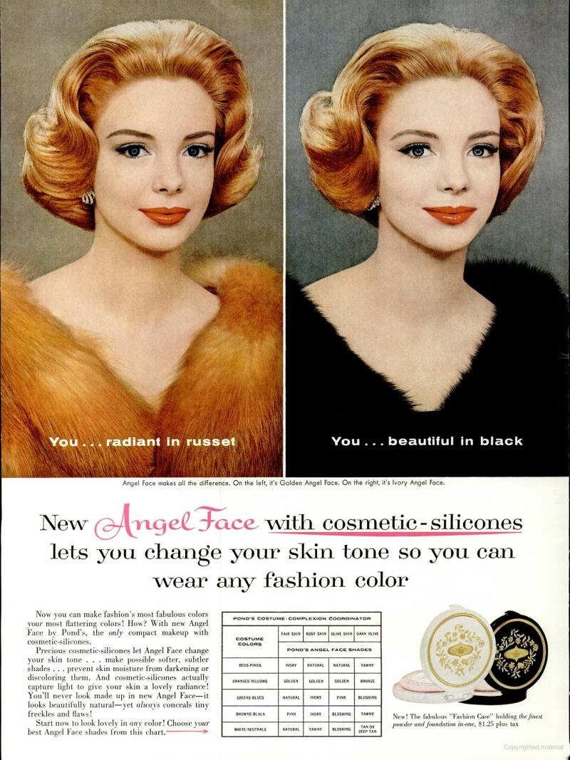 LIFE Feb 29, 1960 angel face skin tone