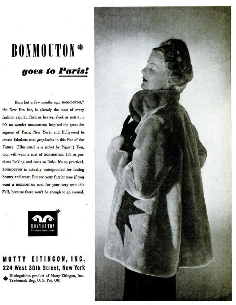 bonmouton fur life august 12 1946