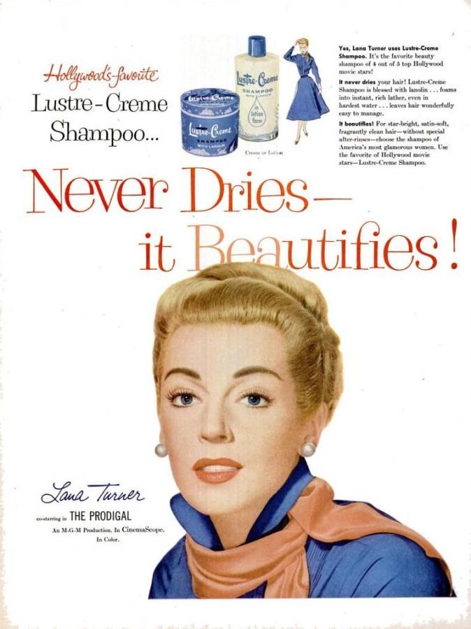 Luster-Creme LIFE Mar 7, 1955