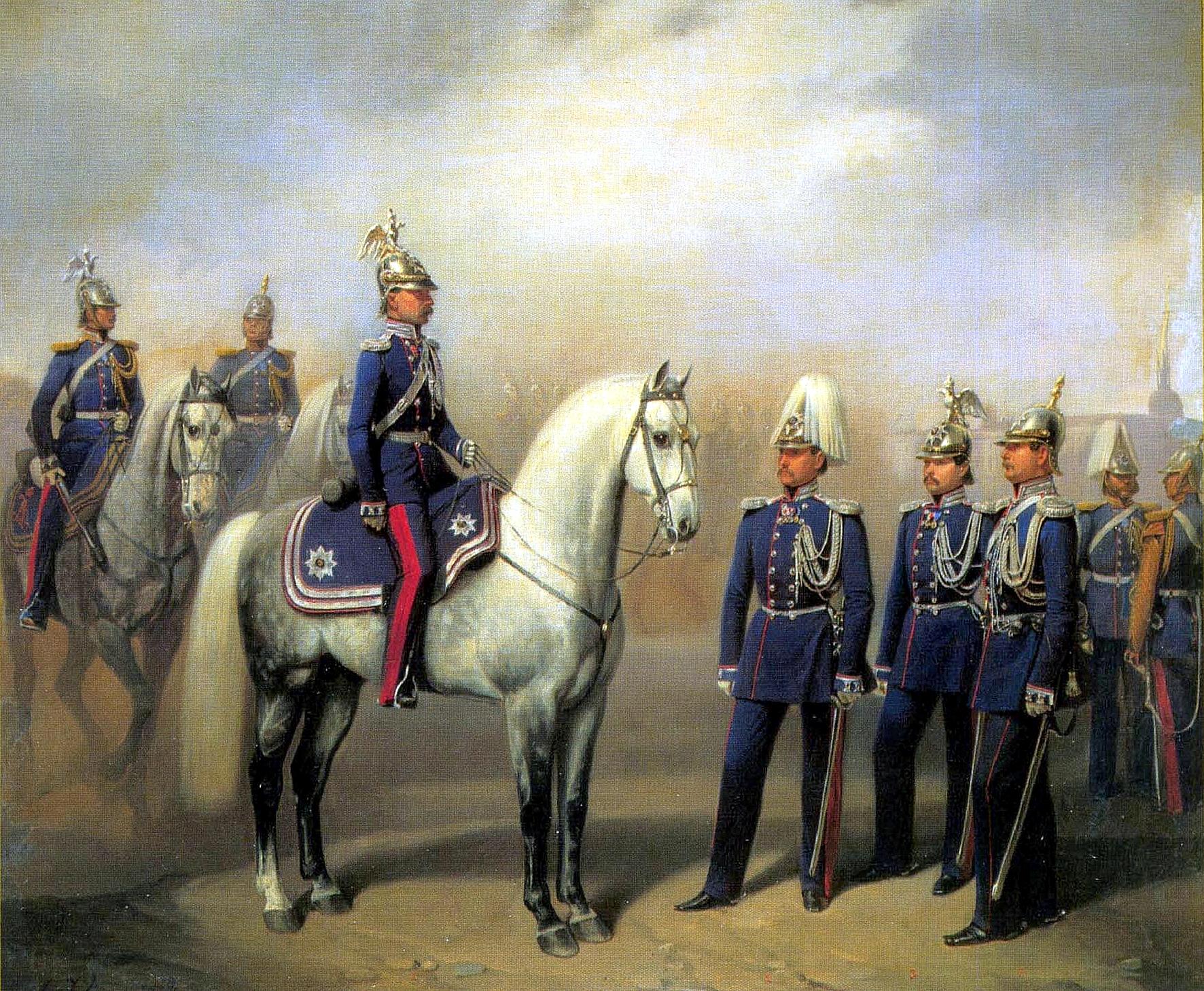 картинки императорской гвардии ожидаешь замерзшем царстве