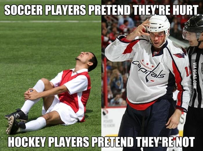 hockey vs football essay