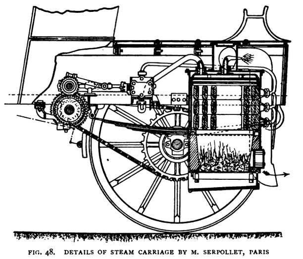 Serpollet Engine