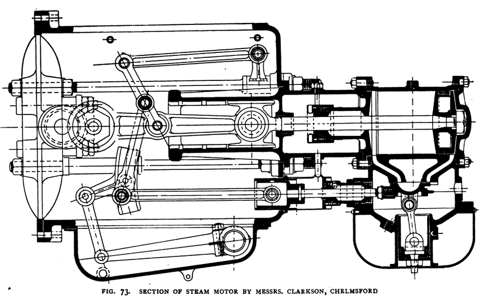 Clarkson Steam Motor