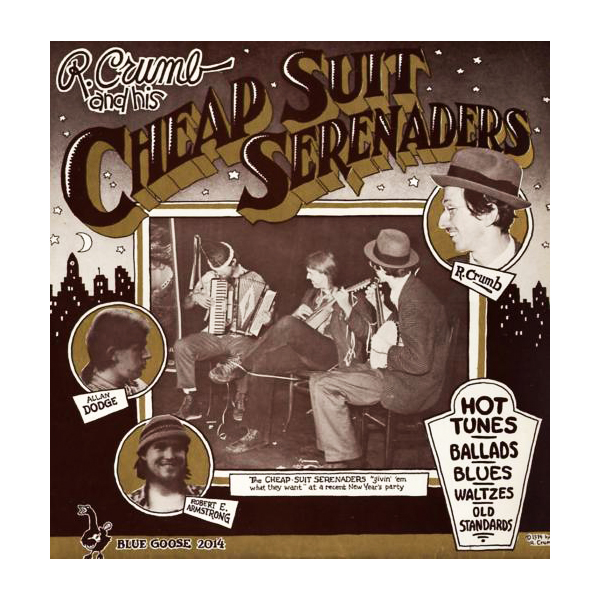 1974 R. Crumb and His Cheap Suit Serenaders (front cover)