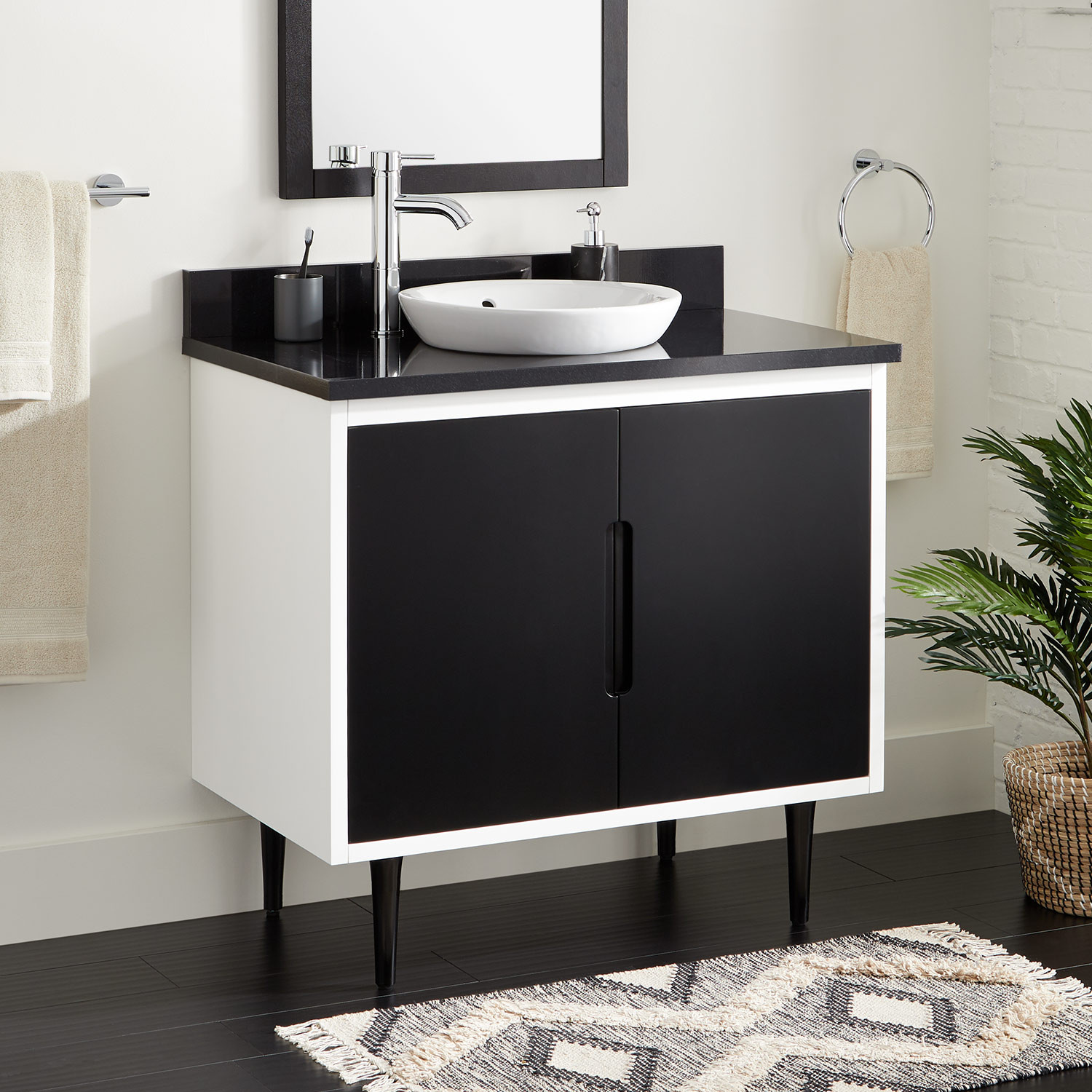 Benefits Of Hanging Vanity On The Wall