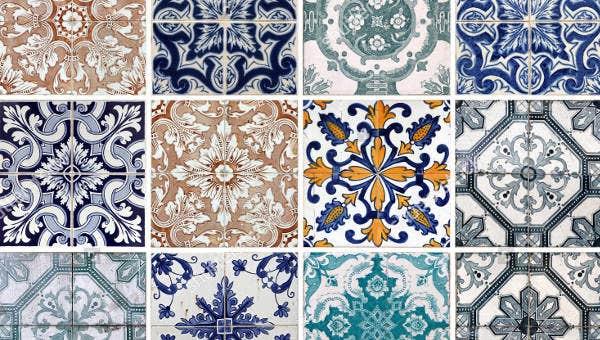 patterned tiles - get tiles online