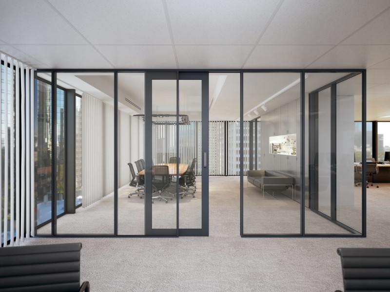 internal glass cavity sliding doors