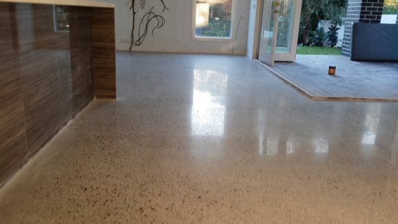 Best Polidhed concrete floor in sydney