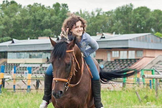 Люблю лошадей